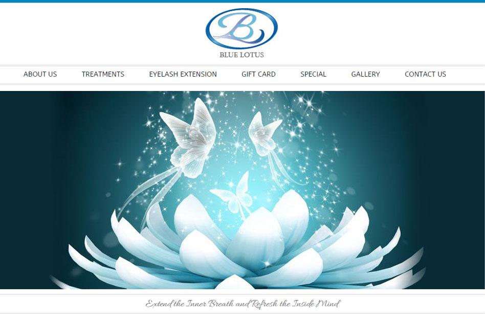 np nails blue lotus massage